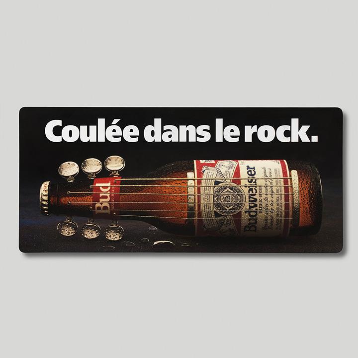 Panneau d'affichage, Budweiser (Young & Rubicam)